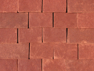 Red Antique roof tiles photo