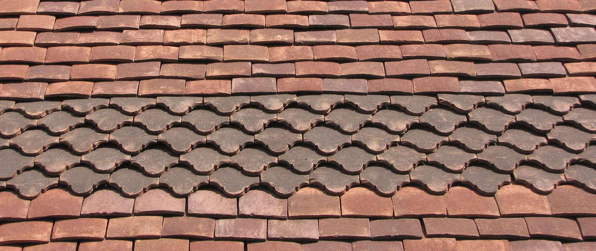 tudor hand made roof tiles slide 2