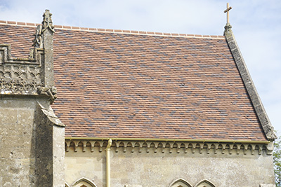 Church Of All Saints 2017 new roof tiles