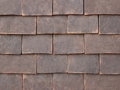 Dark Antique roof tiles photo