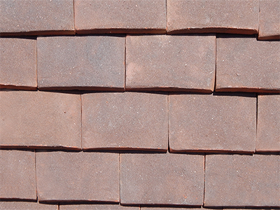 Weathered Earth roof tiles photo