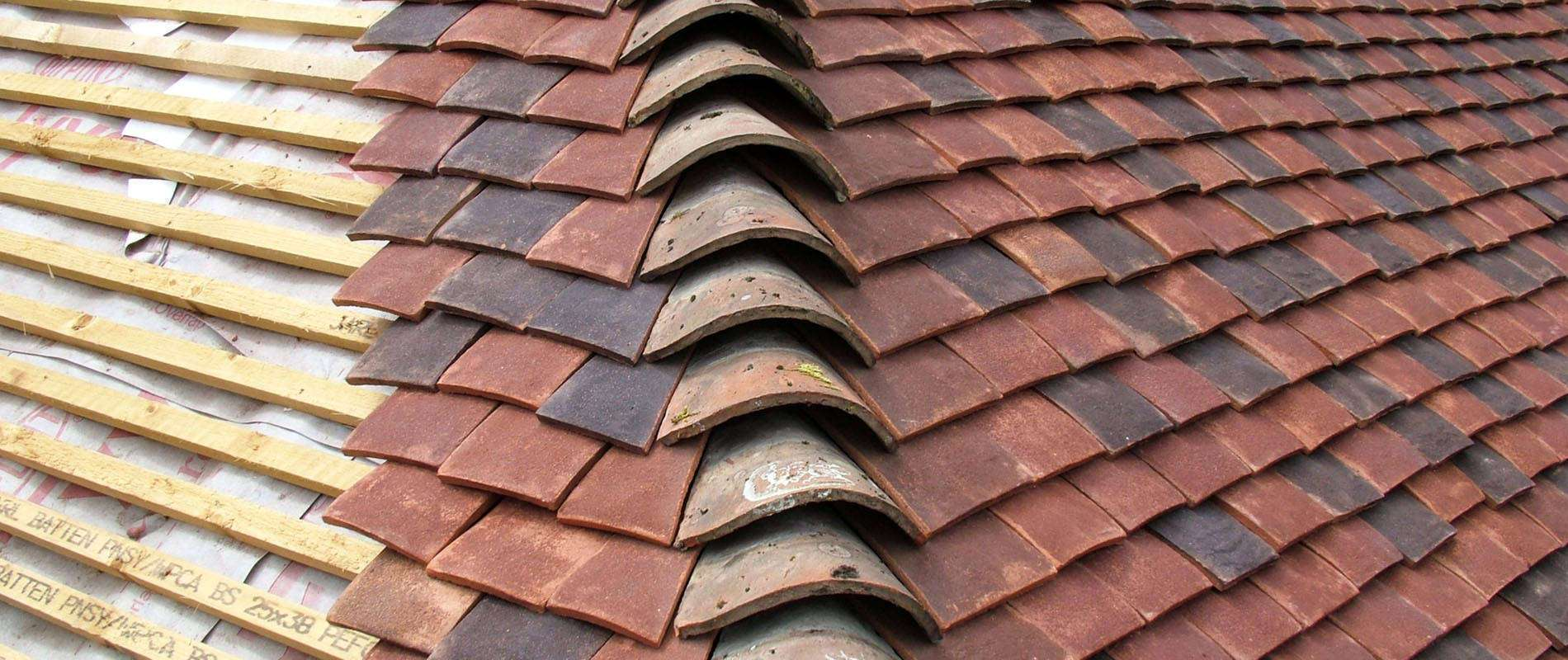 Tudor Roof Tiles Hand Made Peg And Plain Roof Tiles