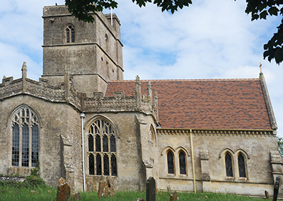 Church Of All Saints new roof tiles photo 2